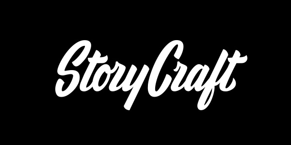 StoryCraft logo design